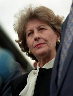 Biljana Plavsics (Biljana Plavšić, 1930–)