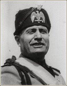 Benito Amilcare Andrea Mussolini (1883-1945)