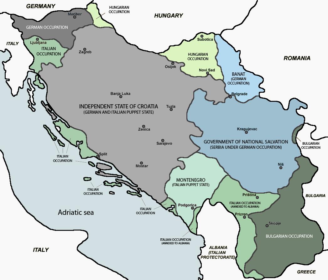 jugoszlávia térkép Fotók   Polgárháború Jugoszláviában   térképek jugoszlávia térkép